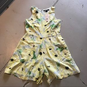 French Connection Silk Romper